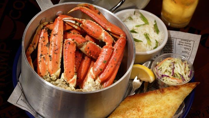 Steamed Crab Boil