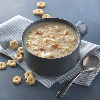Old-Fashioned New England Clam Chowder