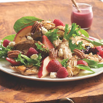 Pear & Berry Salad