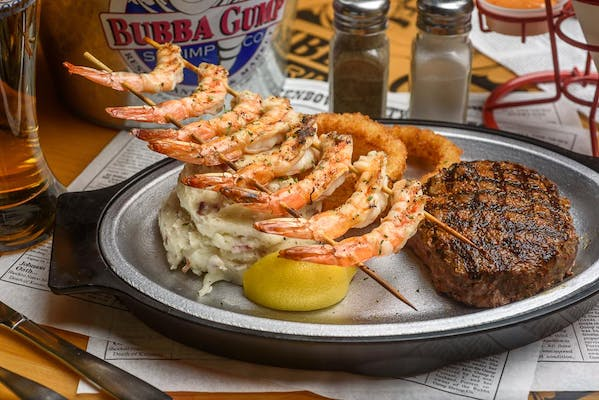 Forrest's Surf & Turf