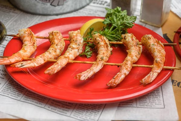Skewer of Grilled Shrimp