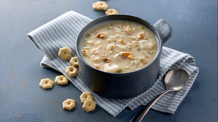 Old Fashioned New England Clam Chowder