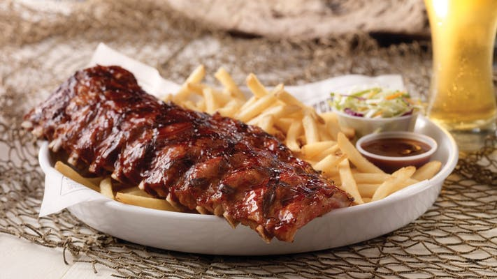 1/2 Rack Dixie Style Baby Back Ribs