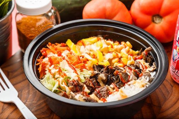 Spicy Korean Chicken Bowl