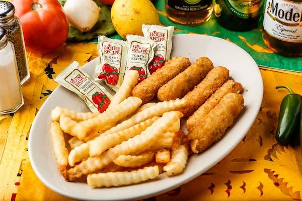 Kid's Cheese Sticks & Fries