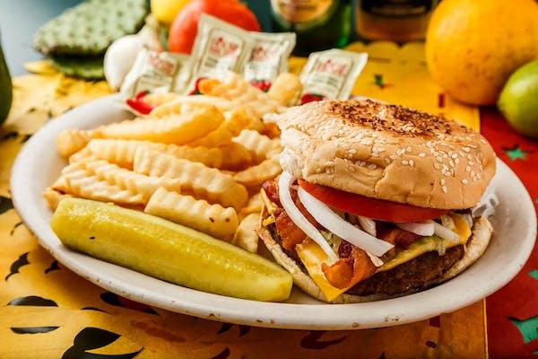 Cotija Burger