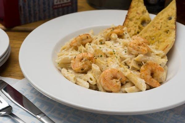 Pasta Alfredo (Shrimp)