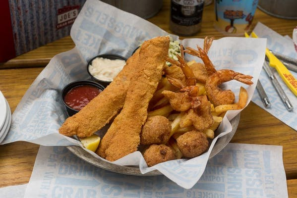 Shrimp and Fish