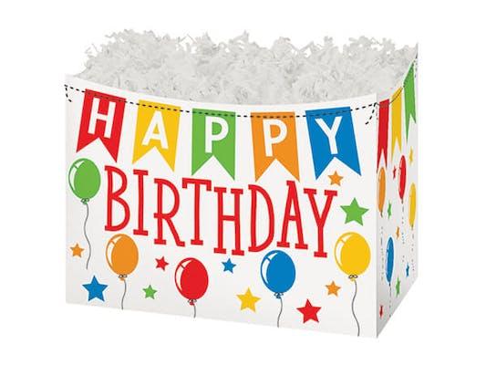Happy Birthday Large Gift Box