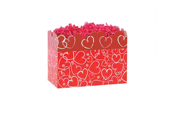 Red Valentine's Small Gift Box