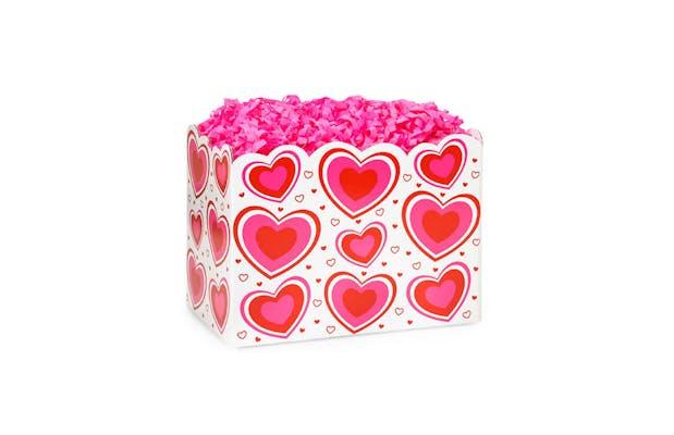White Valentine's Small Gift Box