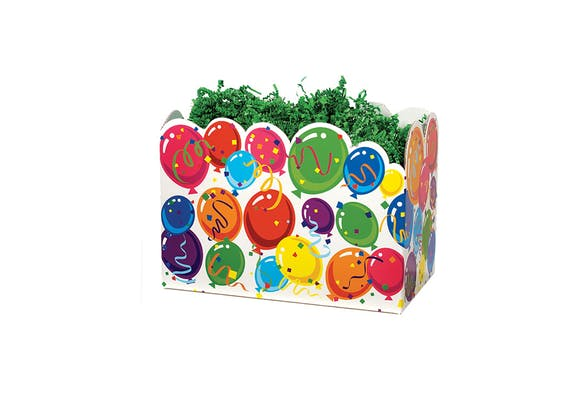 Birthday Balloons Small Gift Box