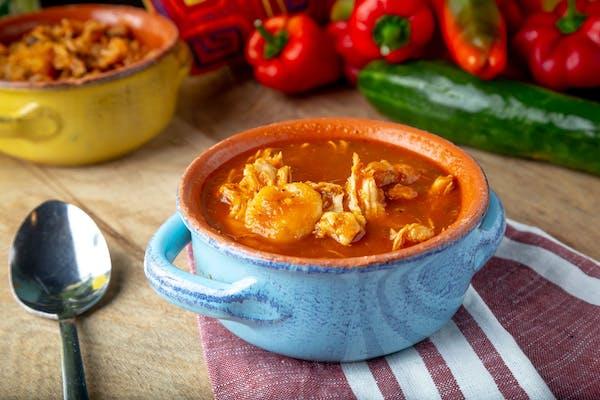 Side Stewed Chicken Soup
