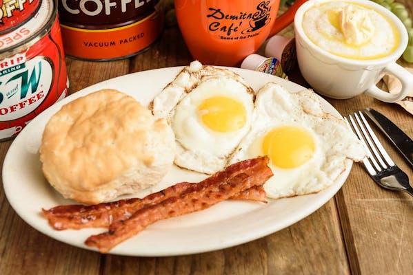 Bayou Country Breakfast Platter
