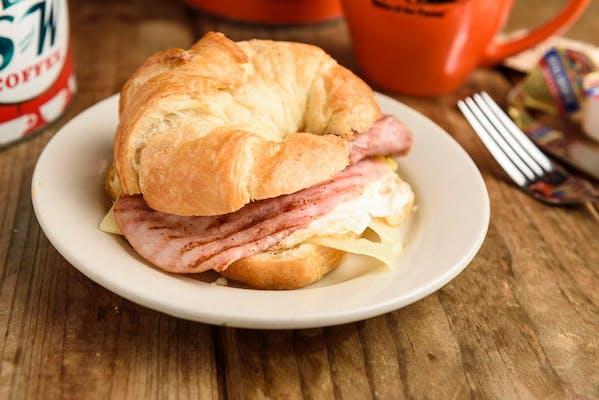 Egg, Ham & Cheese Sandwich