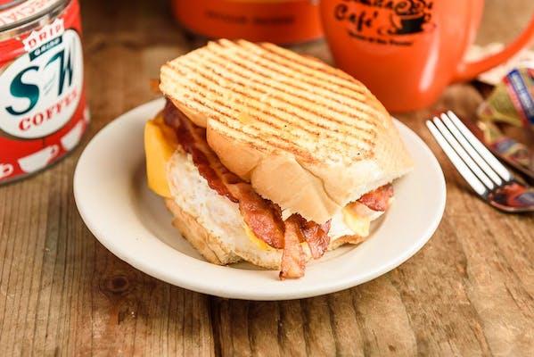Egg, Bacon & Cheese Sandwich
