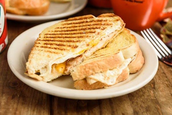 Egg, Grilled Chicken & Cheese Sandwich