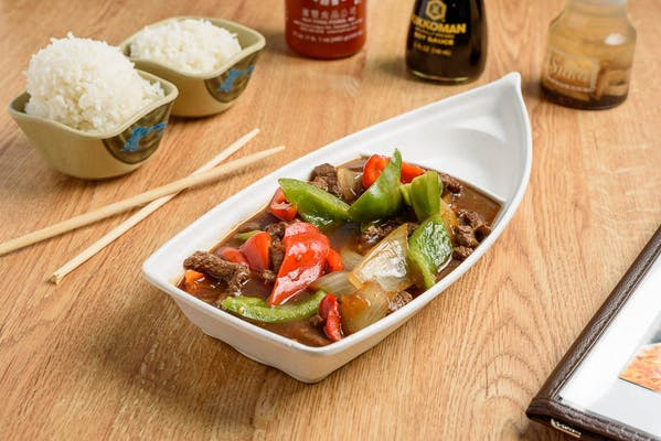 Beef & Bell Peppers