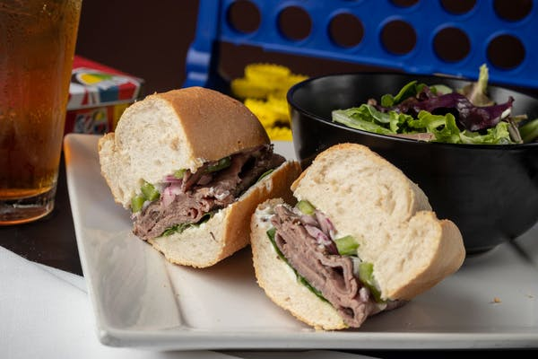 Black Angus Roast Beef Sandwich