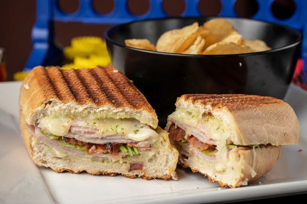 Hickory Smoked Turkey Panini