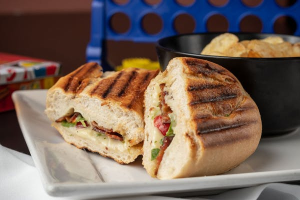 Bacon, Mozzarella & Tomato Panini