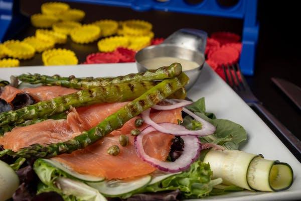 Smoked Norwegian Salmon Salad