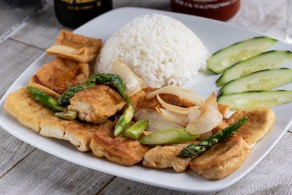 Hibachi Tofu