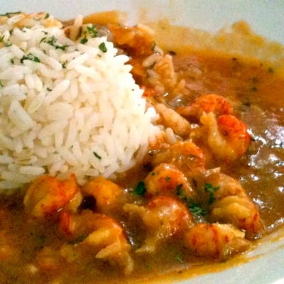 Louisiana Crawfish or Shrimp Étouffée