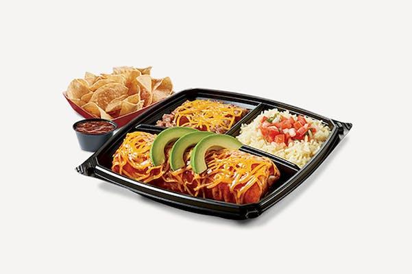 Carne Asada Wet Burrito Plate