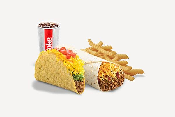 Del Beef Burrito & The Del Taco Combo