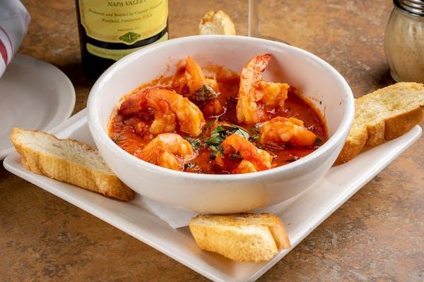 Spicy Shrimp Marinara