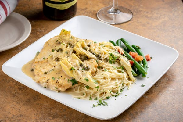 Veal or Chicken Picatta