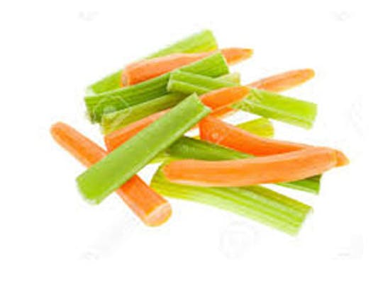 Crisp Vegetable Sticks
