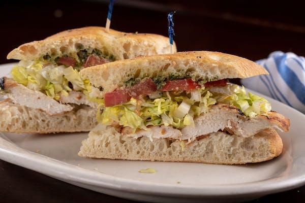Lunch Grilled Chicken Breast Sandwich