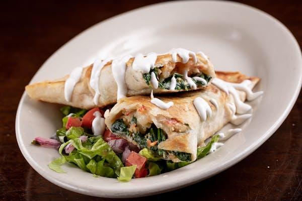 Lunch Grilled Lobster & Shrimp Tacos