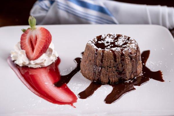Hot Chocolate Truffle Cake