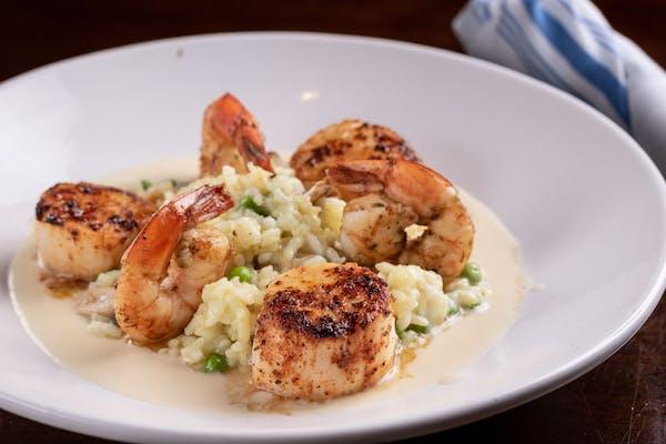 Seared Shrimp & Jumbo Scallops