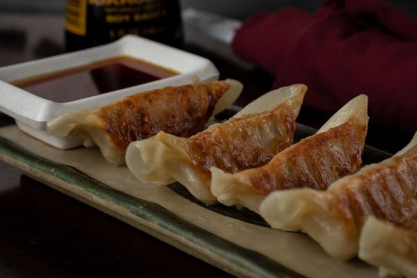 Chicken Dumplings (Gyoza)