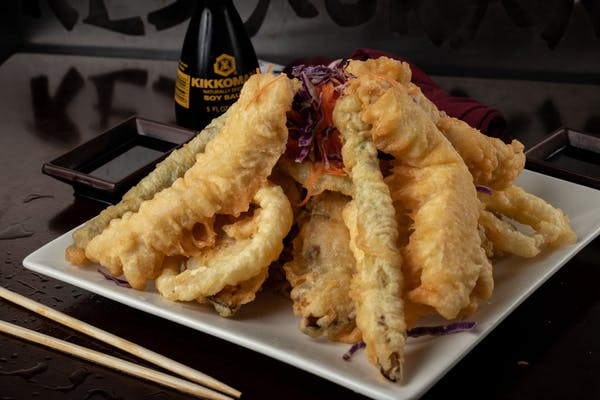 Chicken & Vegetable Tempura