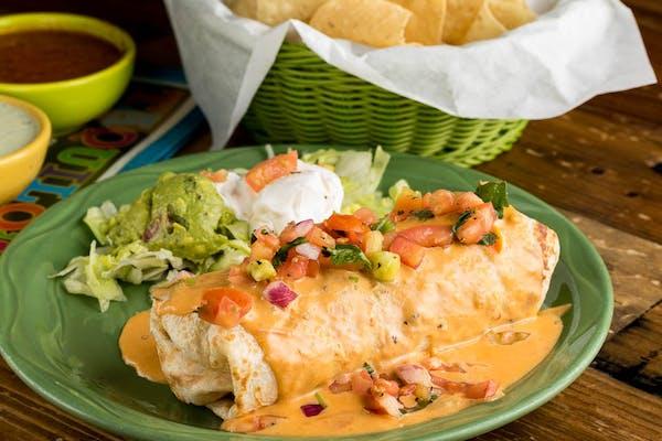 Burrito Grande con Queso