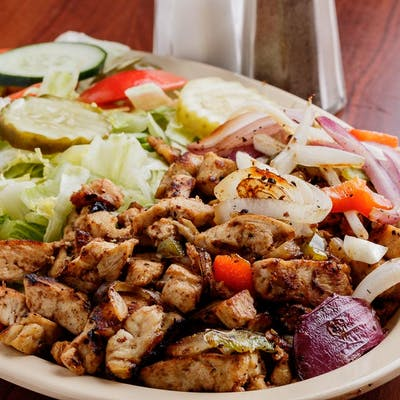 13. Grilled Chicken Salad