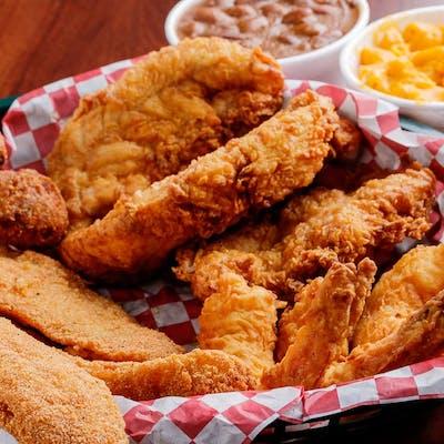 32. Chicken (3 pc.), Shrimp (3 pc.) & Fish (3 pc.)