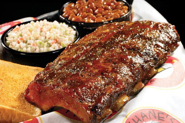 (½) Rack Baby Back Ribs Plate