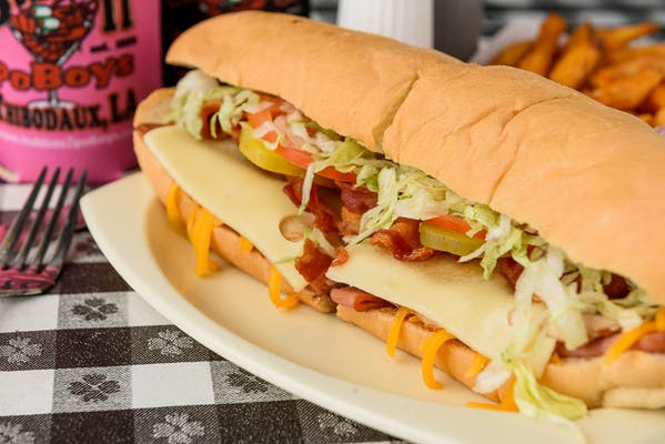 Poonie's Hot Club Poboy