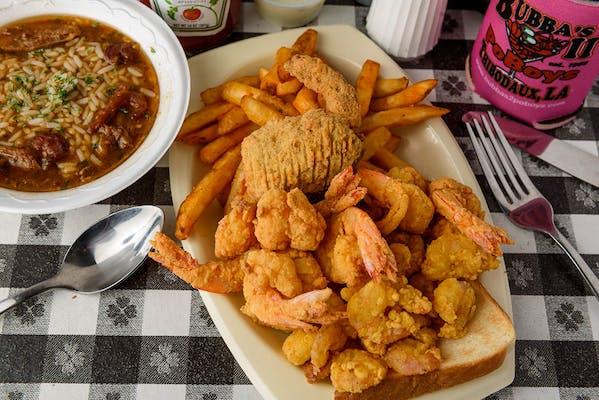 Shrimp Deluxe Platter