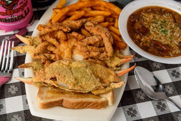 Crab Deluxe Platter