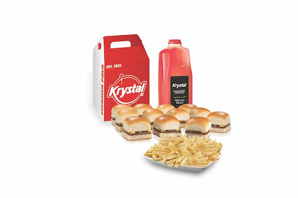 (12) Krystals and Party Fries Bundle