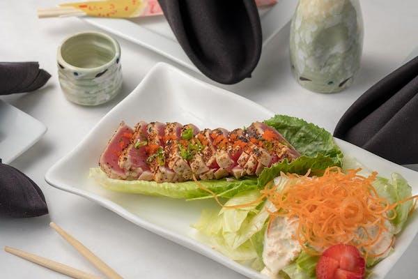 Grilled Beef or Tuna Tataki