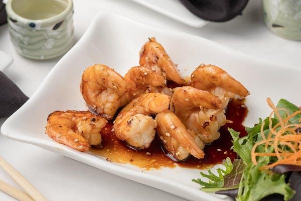 Grilled Shrimp Fuji Style