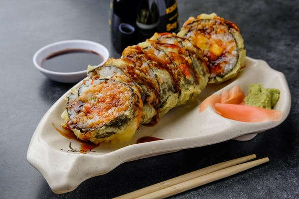 Fried Snow Crab Roll